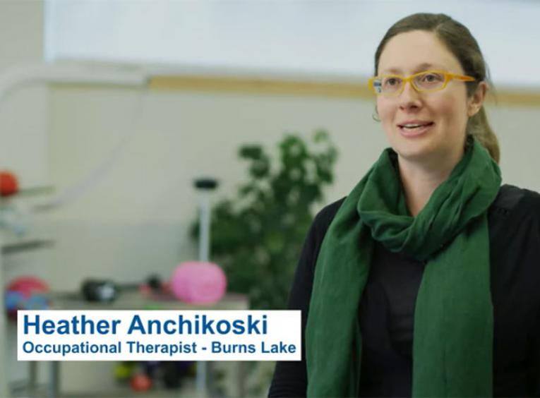 Heather Anchikoski an Occupational Therapist