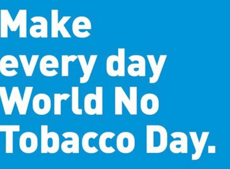 World No Tobacco Day graphic