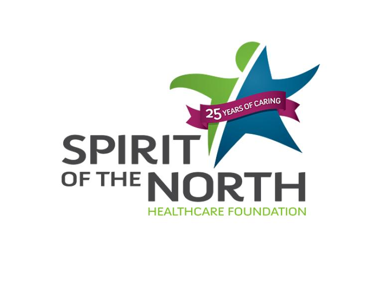 The Spirit of the North Healthcare Foundation's logo