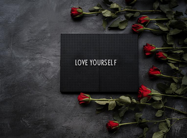 Love yourself, photo by Annie Spratt on Unsplash