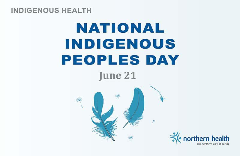 A graphic promotes National Indigenous Peoples Day