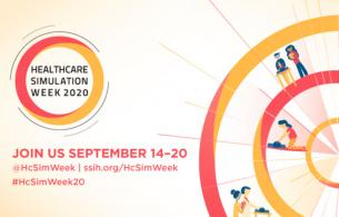 A graphic promotes Clinical Simulation Week.