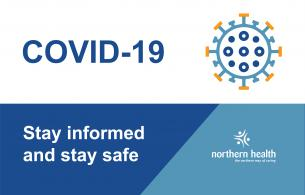 COVID-19 graphic: Stay informed and stay safe.